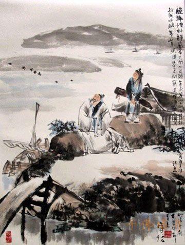 王维——吟诗的禅者