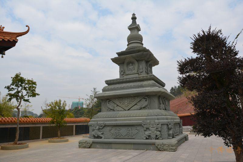 千佛塔寺世界和平吉祥塔建造缘起